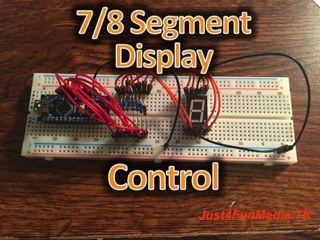 7 Segment Display | Raspberry Pi | Scoop.it