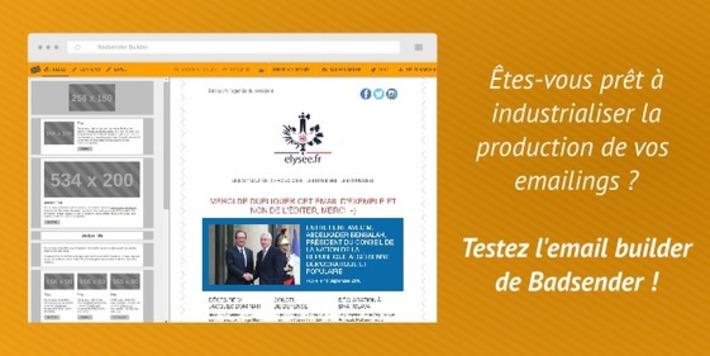 Demo Email Builder : Venez tester le générateur de templates email de Badsender | Solutions locales | Scoop.it
