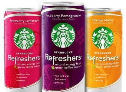 Starbucks Unveils Energy Drinks, Takes On Red Bull - DesignTAXI.com | Corporate Identity | Scoop.it