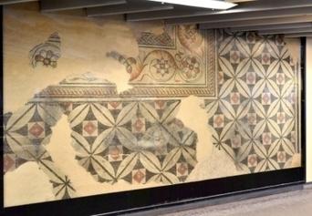 Lyon: des mosaïques gallo-romaines découvertes près du métro Ampère | Archéologie dernières brèves | Scoop.it
