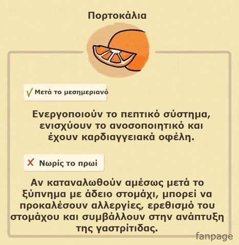 Δεν Υπάρχει Απαγορευμένη Τροφή! Μάθε να Τρως το Σωστό Πράγμα τη Σωστή Ώρα και δες τη Διαφορά | omnia mea mecum fero | Scoop.it