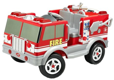 Kid Trax Red Fire Engine Electric Ride-On Review | News | Scoop.it