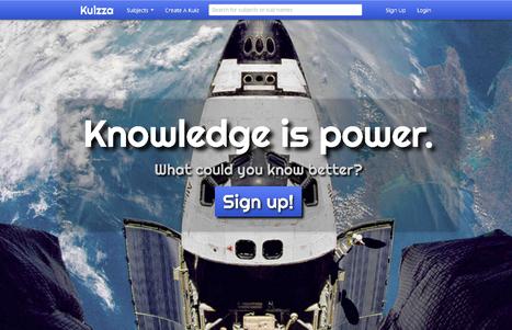 Kuizza, un nouvel outil en ligne pour faire des quizz et des QCM | Education & Numérique | Scoop.it