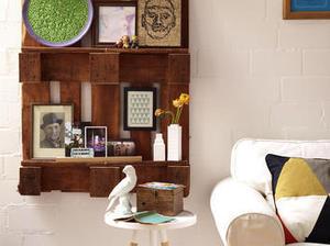 Creer une etagere en bois avec une palette tu - Construire une etagere ...