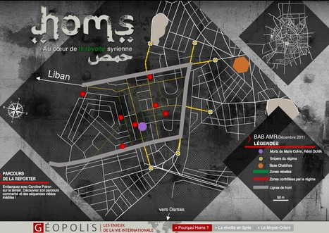 Homs au coeur de la révolte syrienne | Interactive & Immersive Journalism | Scoop.it
