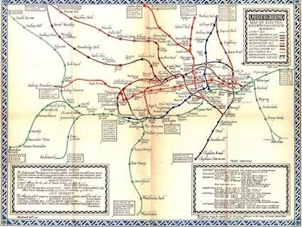 dy/dan » Blog Archive » [LOA] London Underground Maps | Visualisation | Scoop.it