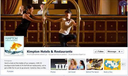 Facebook Timeline: premier constat dans l'hôtellerie et quelques pistes | Cuisine - Cook | Scoop.it