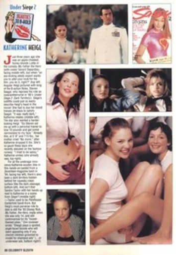 Silent-Porn-Star: Katherine Heigl Under Siege From Celebrity Sleuth Magazine, 1996 | Sex History | Scoop.it