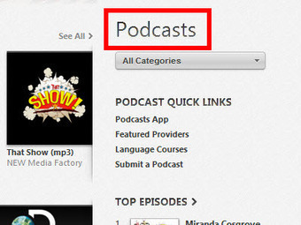How to Subscribe to Podcasts With iTunes   Listening for the ESL student. These are links to suggested sites where students can spend 20minutes listening: to support proununciation and vocabulary building.   Scoop.it