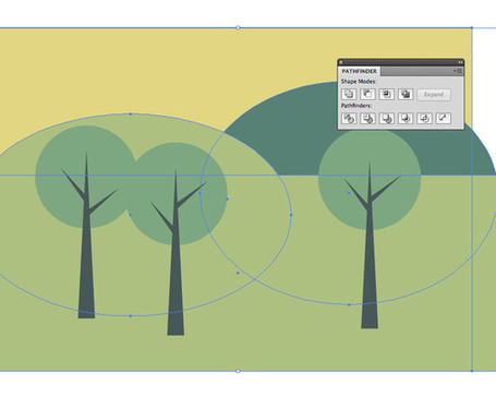 How To Create a Simple Landscape Scene in Illustrator | formation 2.0 | Scoop.it