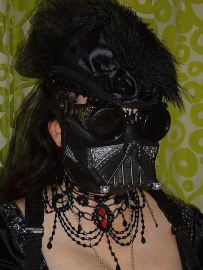 Victorian Darth Vader Dress   All Geeks   Scoop.it