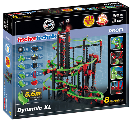 fischertechnik PROFI Dynamic XL gewinnt Spielzeugpreis: Das Goldene Schaukelpferd - Kinderartikel - Ein Blick auf Produktneuheiten | 123Bambini | Kinderartikel | Scoop.it