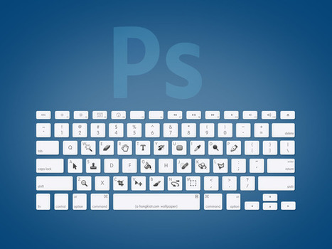 Adobe Creative Suite Toolbar Shortcut Wallpapers | Awesome Design Inspiration | Infographie | Scoop.it