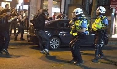 Répression policière à géométrie variable   Politique et actualité Montréal   Scoop.it