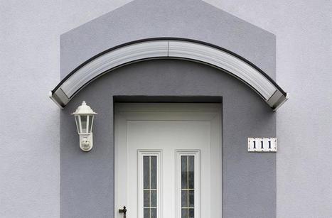 Poser une marquise de porte d'entrée | Fenêtre | Scoop.it