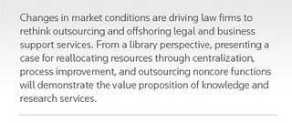 The Running Librarian: Outsourcing, offshoring and right sourcing for the future   Library Collaboration   Scoop.it