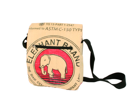 Eco-friendly Elephant student bag, ethically handmade by disadvantaged home based artisans | Eco-Friendly Messenger Bags By Disabled Home Based Workers. | Scoop.it