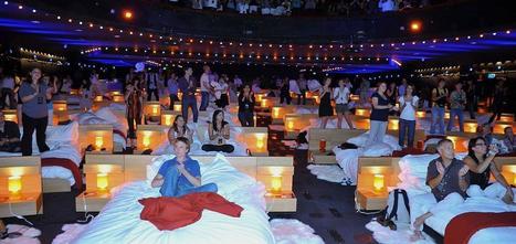 BHV Marais crée un cinéma éphémère avec des lits pour promouvoir sa nouvelle literie | Marketing & Communication | Scoop.it