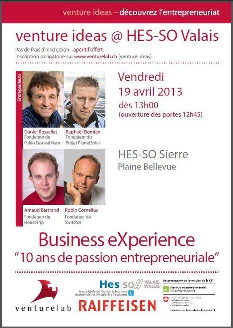 Business eXperience fête ses 10 ans!   HES-SO Valais-Wallis 2   Scoop.it