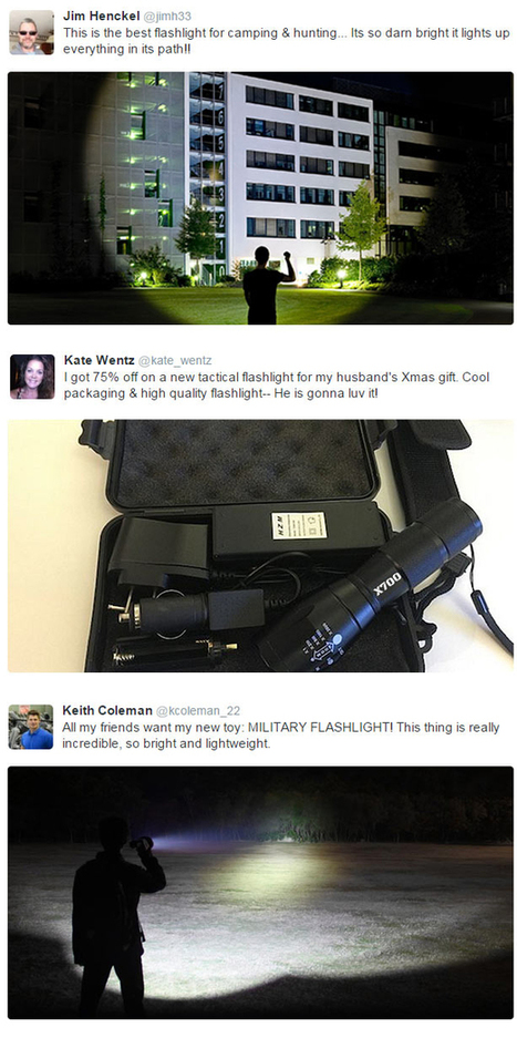 Tactical Flashlight Selling Out Nationwide | Big Insights For Big Data: Tapping into the Global Thinking-Space of Financial Stakeholders | Scoop.it
