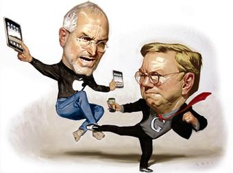 Apple vs. Google, la batalla por el gadget perfecto   Noticias del planeta   Scoop.it