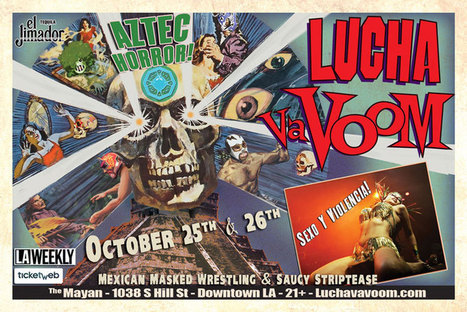 Welcome to Lucha VaVOOM   Share Some Love Today   Scoop.it