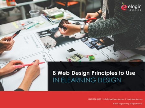 8 Web Design Principles to Use in eLearning Design | Innovation and quality in e-learning | Scoop.it