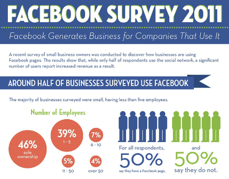 Infographic: Why Half Of Small Firms Don't Facebook | visualizing social media | Scoop.it