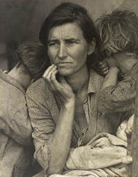 About Life: The Photos of Dorothea Lange (Getty Exhibitions) | The American Dream: Art | Scoop.it