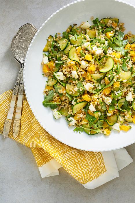 Salade courges | David De Stefano | petite courgerie | Scoop.it