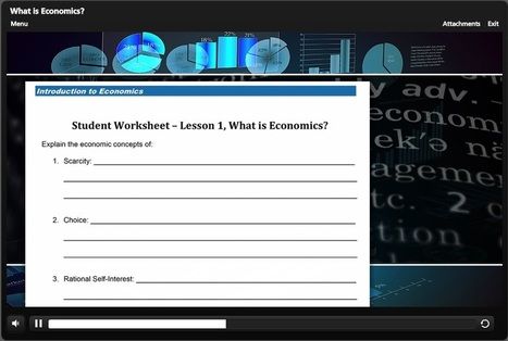 Business Education Lesson Plans for Economics | HCS Business Education (Economics) | Scoop.it