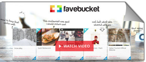 FaveBucket nos ayuda a guardar, organizar y compartir nuestros contenidos favoritos | Edu-Recursos 2.0 | Scoop.it