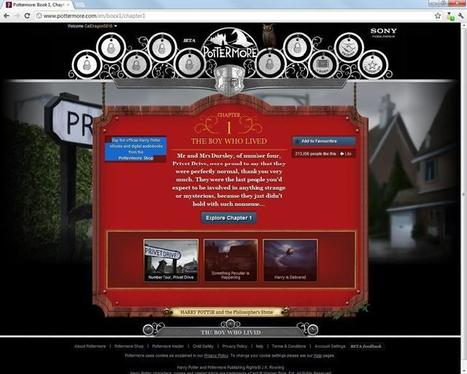 Review: Harry Potter website offers much to enjoy, leaves us wanting more - Ottawa Citizen | Pottermore | Scoop.it