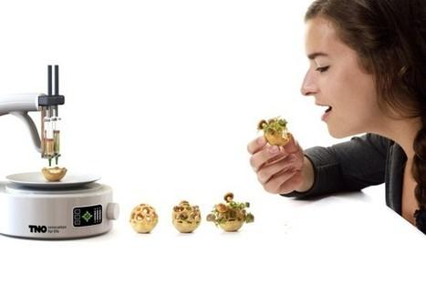 Manger sain, manger bio avec l'impression 3D - imprimeren3D.net | FabLab - DIY - 3D printing- Maker | Scoop.it