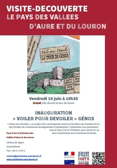 Mise en valeur du patrimoine de Génos par les lycéens de Lannemezan   Vallée d'Aure - Pyrénées   Scoop.it