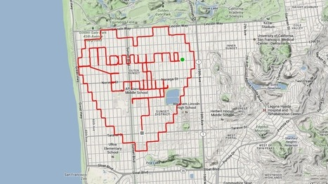 New trend: Spell out your wedding proposal by biking around the city | Biking and Trail Running | Scoop.it