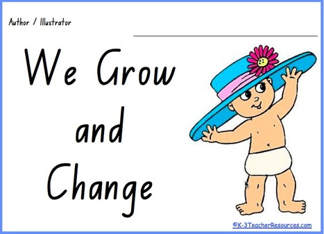 Growing And Changing Concept Book - K-3 Teacher Resources | HSIE Early Stage One - Change & Continuity | Scoop.it