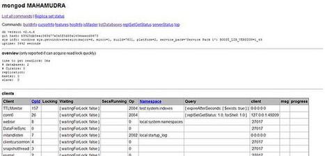 A world of MongoDB - codice a mano - DotNetCampania | codice a mano | Scoop.it