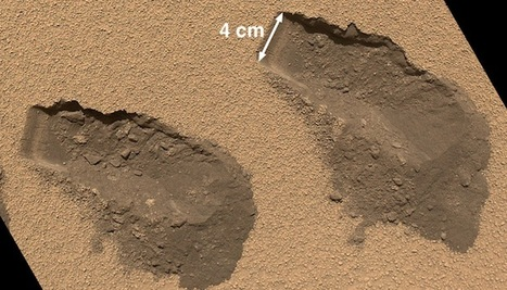 NASA Curiosity rover digs Mars, finds sulfur, chlorine and organic ... | Curiosity Mars Mission | Scoop.it