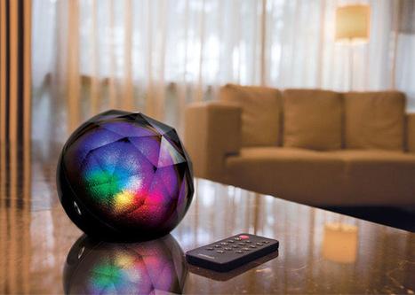Stylish Speaker and Lamp Imitates Sunrise to Wake You with Singing Canaries | Le It e Amo ✪ | Scoop.it
