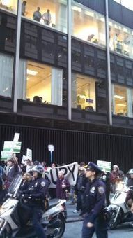 """""""Robin Hood Activists Take Aim at Wall Street"""" 