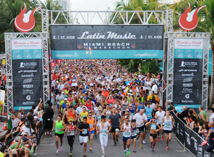 Athletics: Runners Rock 'n' Roll on the Sand of South Beach - RunnersWeb | Music House | Scoop.it