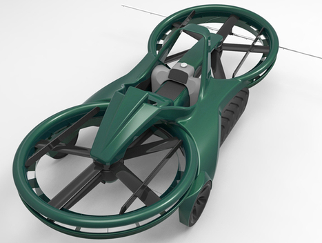 Hoverbike Priced At $85,000 Coming In 2017 - Gas 2 | Heron | Scoop.it