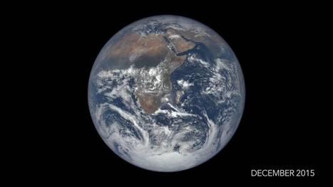 La NASA difunde este vídeo de la Tierra durante un año a 1,6 millones de km de distancia | Recursos de Geografia | Scoop.it