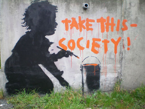 80+ Beautiful Street Crimes done by BANKSY | One Man's Personal Interest: An Exploration of Street Art and Propaganda | Scoop.it