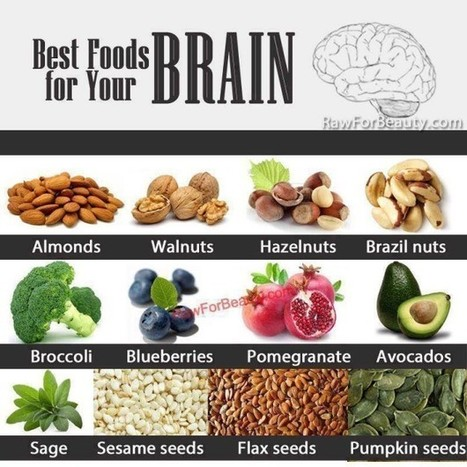 Best Foods for Your Brain - Health & Fitness Tips and Advice - Better Health Publishing | Wellness | Scoop.it