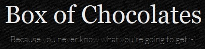 Activities « Box of Chocolates | Off-the-Web ELT Lessons, Materials & Activities | Scoop.it