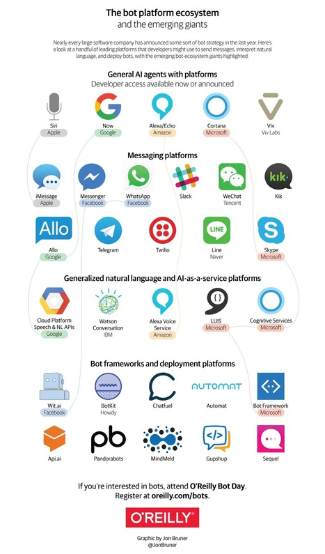 Infographic: The bot platform ecosystem | Web information Specialist | Scoop.it