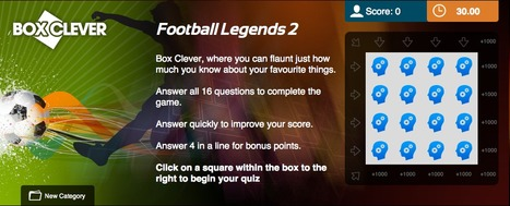 Football Legends Quiz 2 | Box Clever | QuizFortune | Quiz Related Biz - Social Quizzing and Gaming | Scoop.it