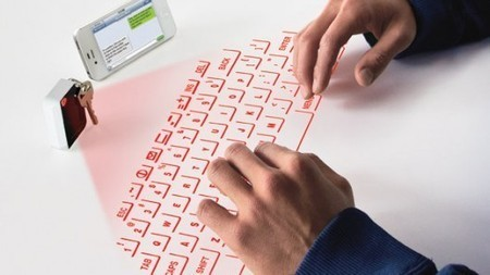 CTX Virtual Keyboard fits on a keychain | Agoria's technology review | Scoop.it